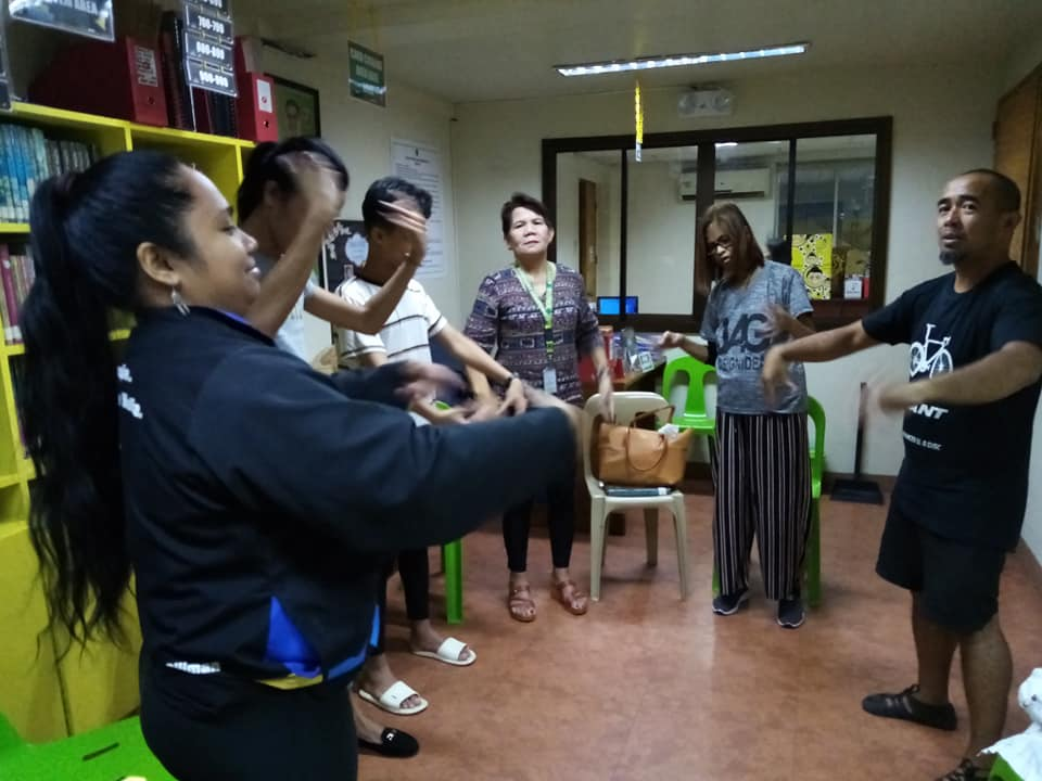 Second Workshop Courage Session in Pasig Concluded